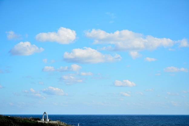 空と海だけ