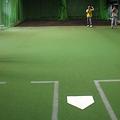 写真: 3塁ブルペン