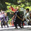 朝霞なるこ人魚姫_06 - よさこい祭りin光が丘公園2011