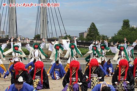 REDA 舞神楽_21 - ザ・よさこい大江戸ソーラン祭り2011