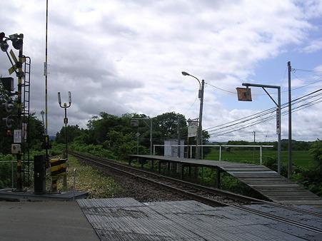 南美深駅ホーム1