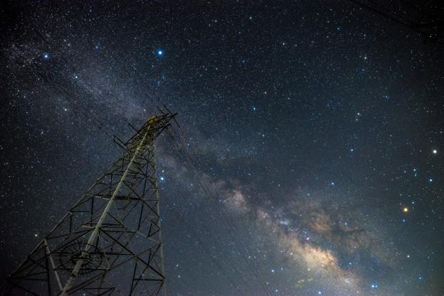 写真: 煌めく空