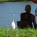 Photos: 釣り人とーーー