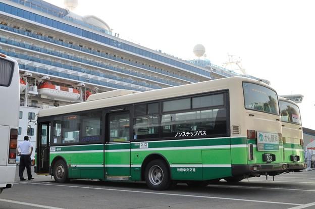 ダイヤモンドプリンセス入港 16-08-06 16-52