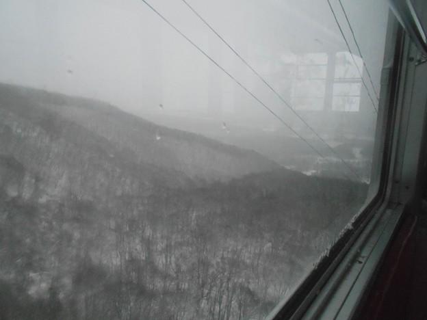 納涼写真 真冬の雫石スキー場3
