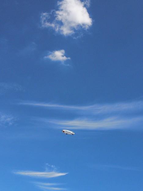 Photos: 飛行船