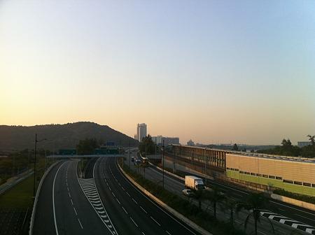 香港のフリーウェイ