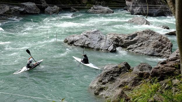 Photos: 川のスポーツ
