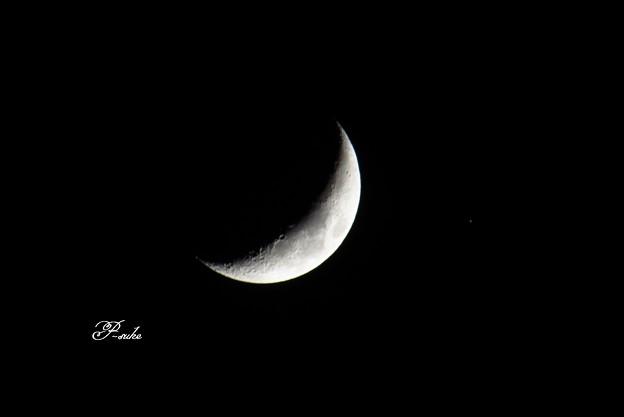 1/3の月と火星大接近
