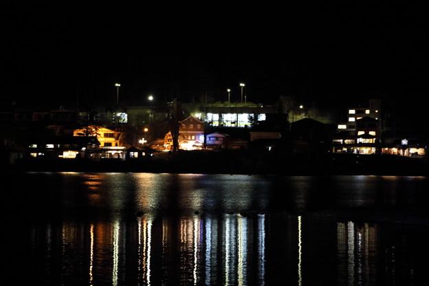 夜の中禅寺湖