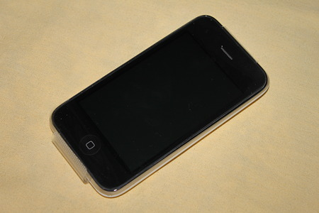 2010.05.30 iPhone 3GS 16GB 白 本体(1/2)