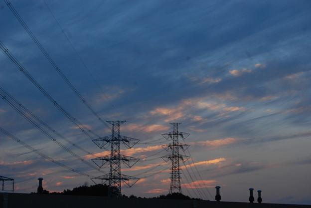 お気に入りの場所の夕日-175
