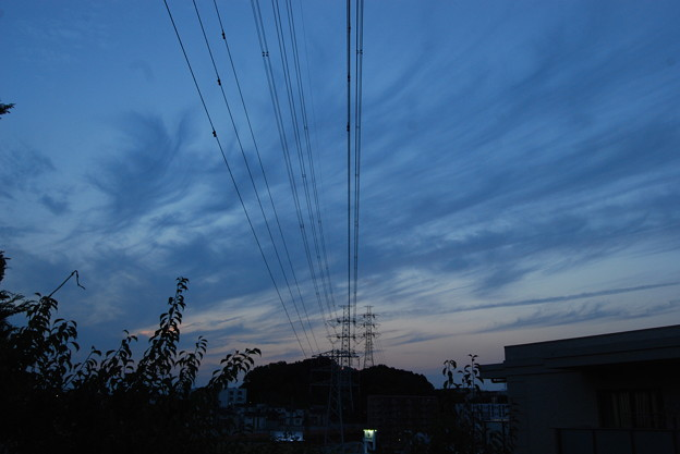 お気に入りの場所の夕日-184