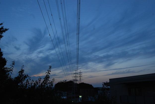 お気に入りの場所の夕日-189
