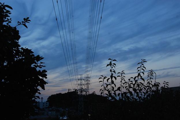お気に入りの場所の夕日-191