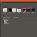 写真: Vivaldi 1.3.501.6:テーマ機能でUIの色を色々変更可能に - 1(オレンジ色と濃い茶色?)