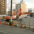 写真: 建物の解体が始まった、ヤマダ電機テックランド春日井店(2016年6月) - 6