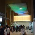 先日オープンしたばかりのJPタワー「KITTE名古屋」 - 36:2階商業部分の光って色が変わる天井