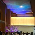 先日オープンしたばかりのJPタワー「KITTE名古屋」 - 37:2階商業部分の光って色が変わる天井