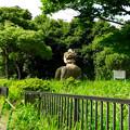 ポートメッセなごや:施設の端に設置されてる「六朝帝王陵の麒麟像」 - 1