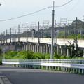 写真: 南大高駅付近の東海道本線 - 2