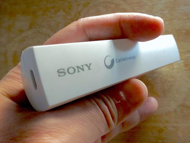 写真: ソニーのモバイルバッテリー「CP-ELSIPW」- 6