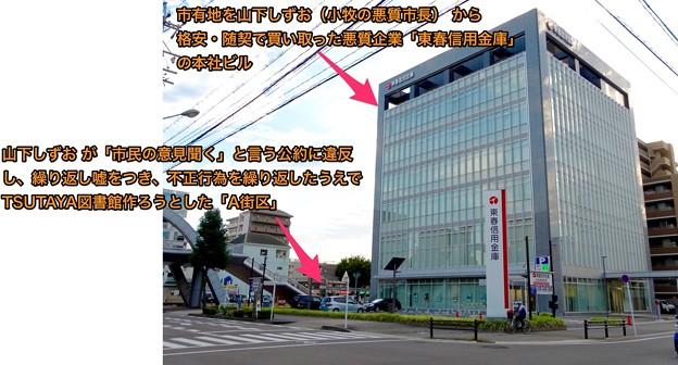 山下しずお(小牧市長)から格安・随契で市有地を買い取った悪質企業「東春信用金庫」の本社 - 10