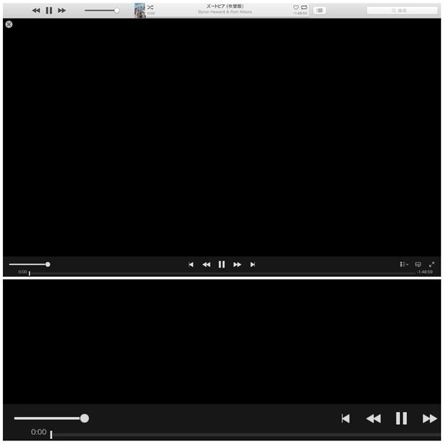 iTunes Store:レンタルした映画が再生しても真っ黒の画面のまま… - 2