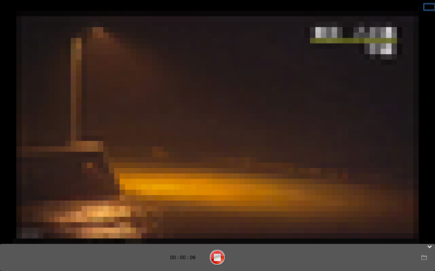 MacでiPhone画面のAirPlayができるアプリ「LonelyScreen」- 11(NHKニュース・防災アプリでライブ映像を全画面表示&録画)