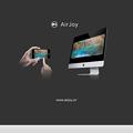 写真: MacでiPhone画面のAirPlayができるアプリ「AirJoy」、残念ながらEl Capitanでは機能せず… - 2