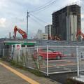 写真: すっかり建物が解体された、旧・ヤマダ電機テックランド春日井店 - 1