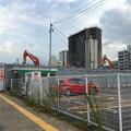 写真: すっかり建物が解体された、旧・ヤマダ電機テックランド春日井店 - 2