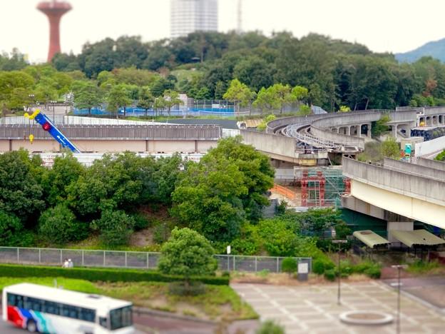 ミニチュアライズ:桃花台線の中央道上効果撤去工事現場付近 - 7(フィルター)