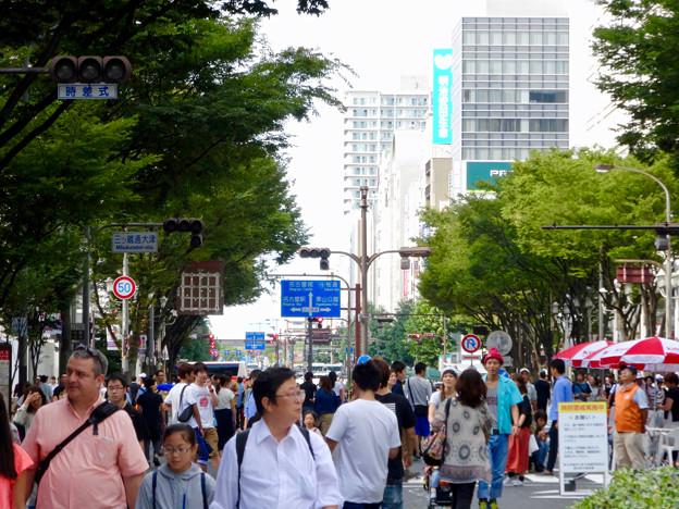 大勢の人で賑わう、南大津通歩行者天国(2016年9月25日) - 8