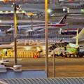 Photos: 県営名古屋空港:FDA機とMRJ - 2