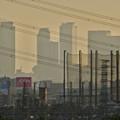 写真: 夕暮れ時の国道19号沿いから見下ろした、名駅ビル群 - 10