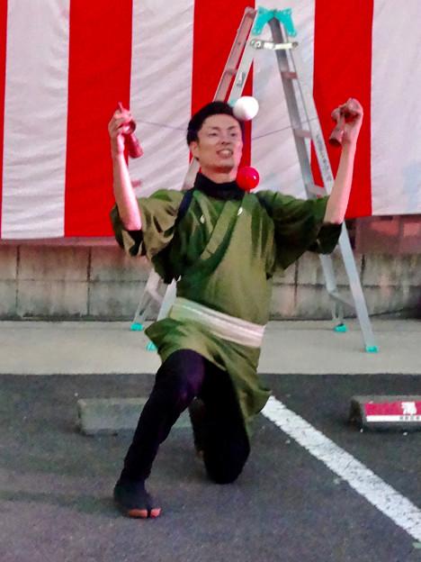 大須大道町人祭 2016 No - 52:けん玉師「伊藤佑介」さんのパフォーマンス