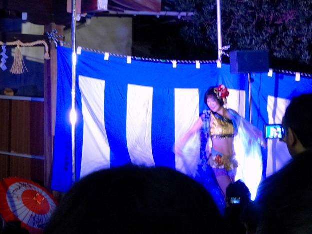 大須大道町人祭 2016 No - 80:ポールダンサー「鷹島姫乃」さんのパフォーマンス