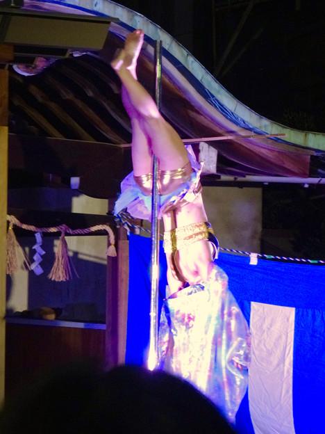 大須大道町人祭 2016 No - 83:ポールダンサー「鷹島姫乃」さんのパフォーマンス