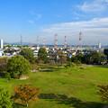 写真: 水の塔から見下ろした落合公園 - 4