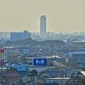 写真: 落合公園:水の塔最上階から見た景色 - 11(ザ・シーン城北)