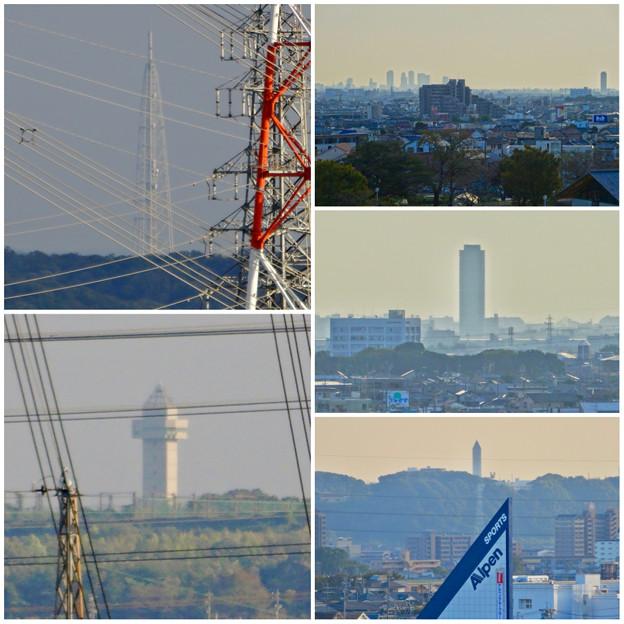 落合公園:水の塔最上階から見た景色 - 17