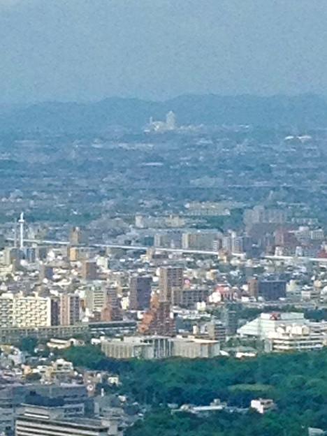 ミッドランドスクエア「スカイプロムナード」から見た景色(2012年9月9日撮影) - 3:スカイステージ33