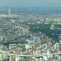 写真: ミッドランドスクエア「スカイプロムナード」から見た景色(2012年9月9日撮影) - 5:ザ・シーン城北と名古屋城