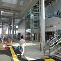 写真: 今日からリニューアルオープンした新・JR春日井駅 - 7:北口の階段とエレベーター