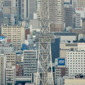 写真: ミッドランドスクエア「スカイプロムナード」から見た景色(夕方) - 36:名古屋テレビ塔