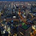 写真: ミッドランドスクエア「スカイプロムナード」から見た夜景 - 3:東側