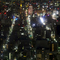 ミッドランドスクエア「スカイプロムナード」から見た夜景 - 41:栄地区