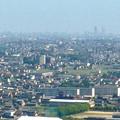 写真: ツインアーチ138展望階から見た景色(2012年6月撮影)- 4:中部電力千代田ビルと名駅ビル群