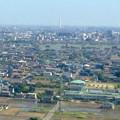 写真: ツインアーチ138展望階から見た三菱電機稲沢製作所のエレベーター試験塔(2012年6月撮影) - 3